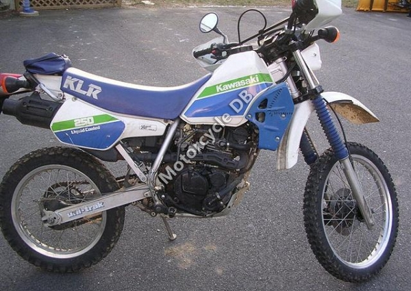 Kawasaki KLR250 (reduced effect) 1989 #6