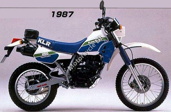 Kawasaki KLR250 (reduced effect) 1989 #7