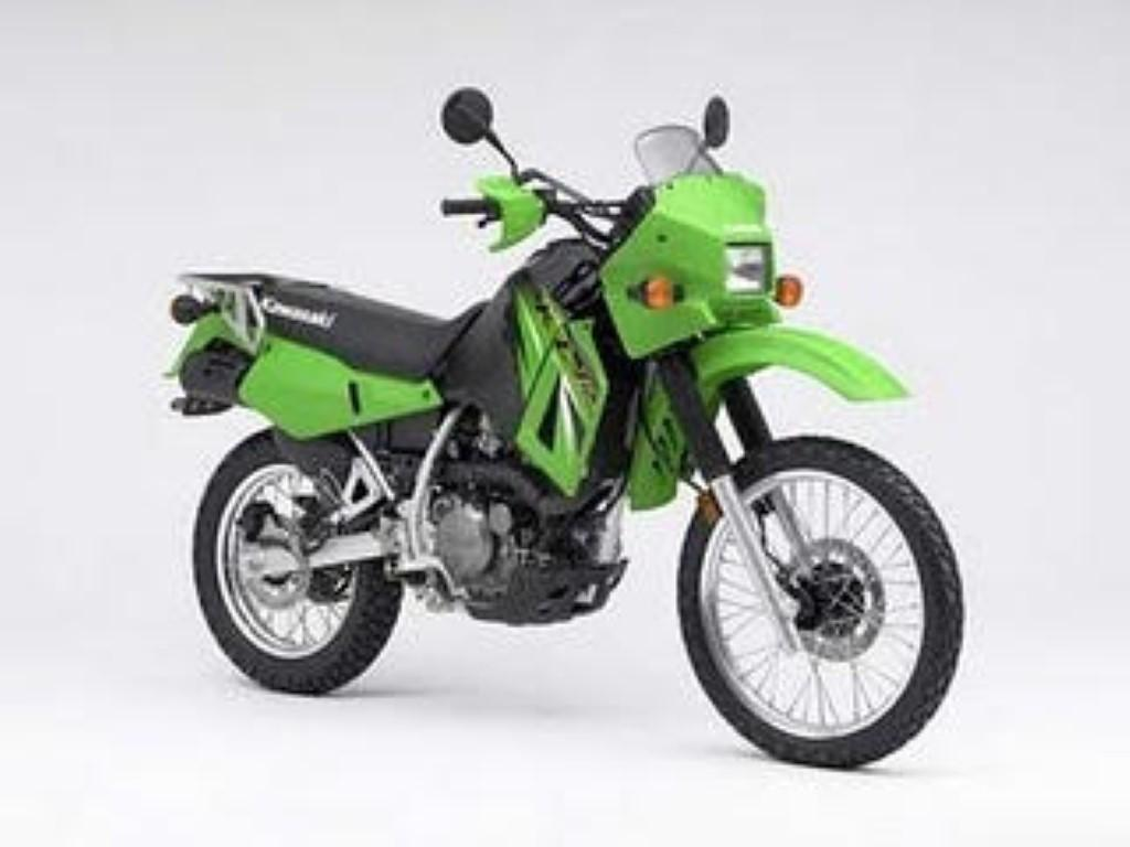 Kawasaki KLR600E (reduced effect) 1988 #1