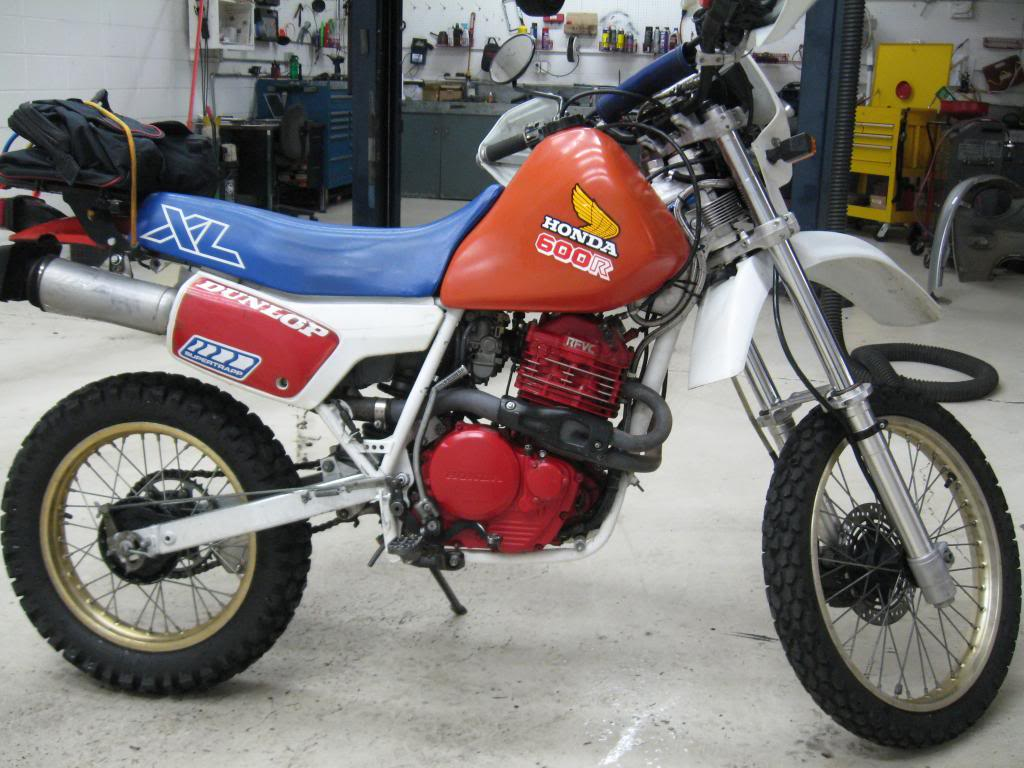 Kawasaki KLR600E (reduced effect) 1988 #13
