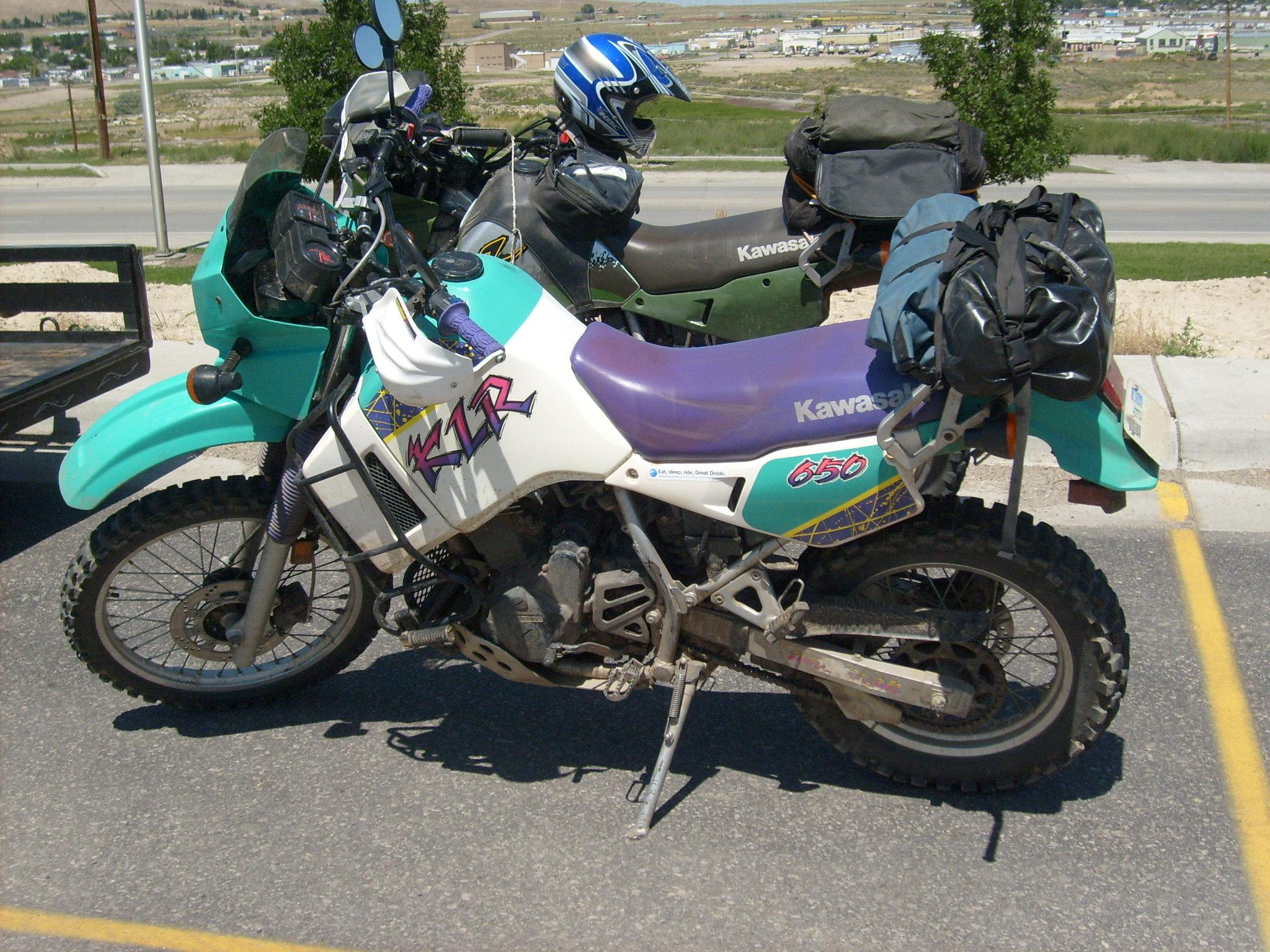 Kawasaki KLR600E (reduced effect) 1988 #6