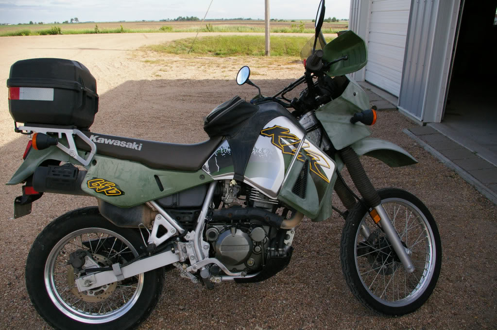 7081385512928532 in addition 2001 Kawasaki Klr650 besides 529412 Share Your Mountain Photos 3 in addition 1970 Pontiac Le Mans Wiring Schematic further 1462386. on klr 650 rally light