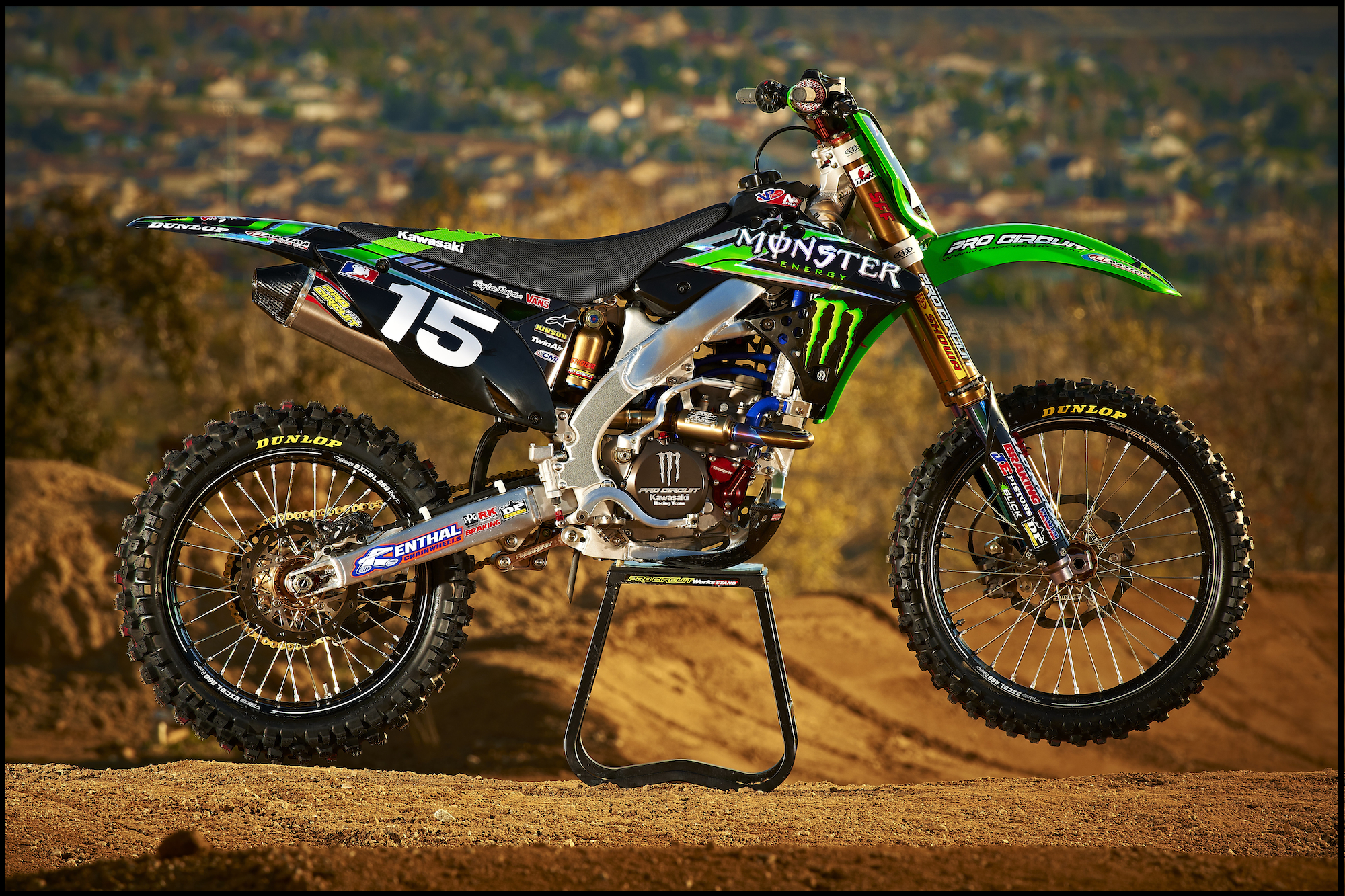 Kawasaki KLX140 Monster Energy #10