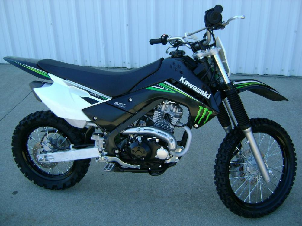 Kawasaki KLX140 Monster Energy #12