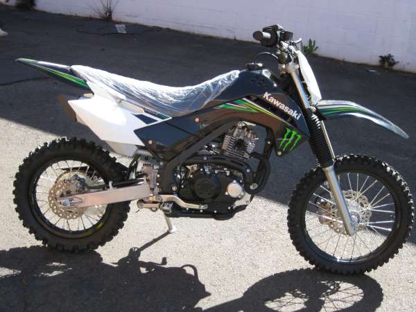 Kawasaki KLX140 Monster Energy #13