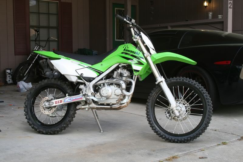 Kawasaki KLX140 Monster Energy #14