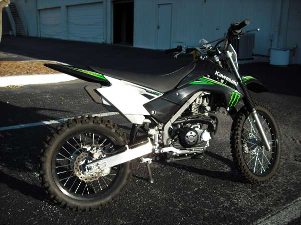Kawasaki KLX140 Monster Energy #3