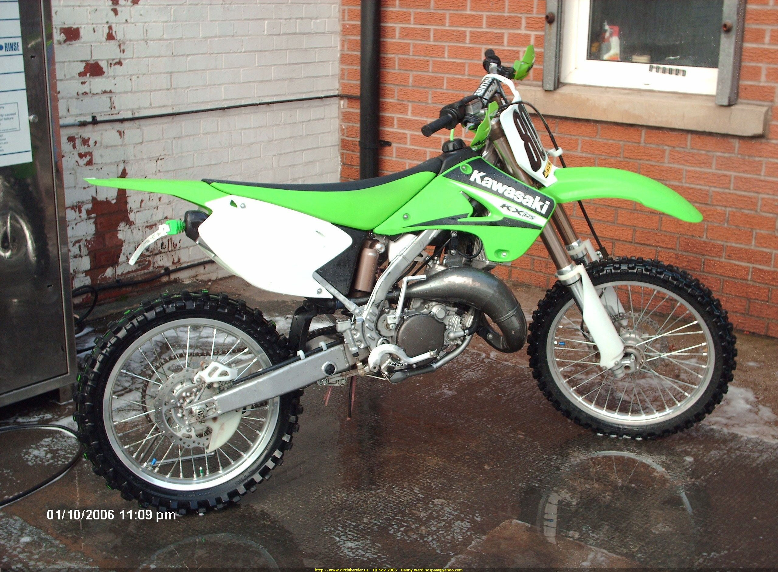 kawasaki kx125 kx 125 manual service repair workshop