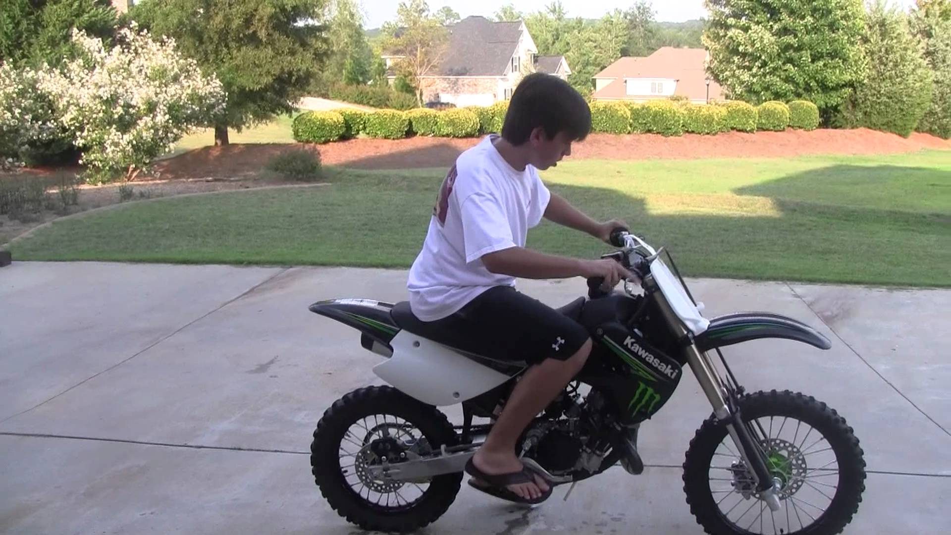 Kawasaki KX85-I Monster Energy #11