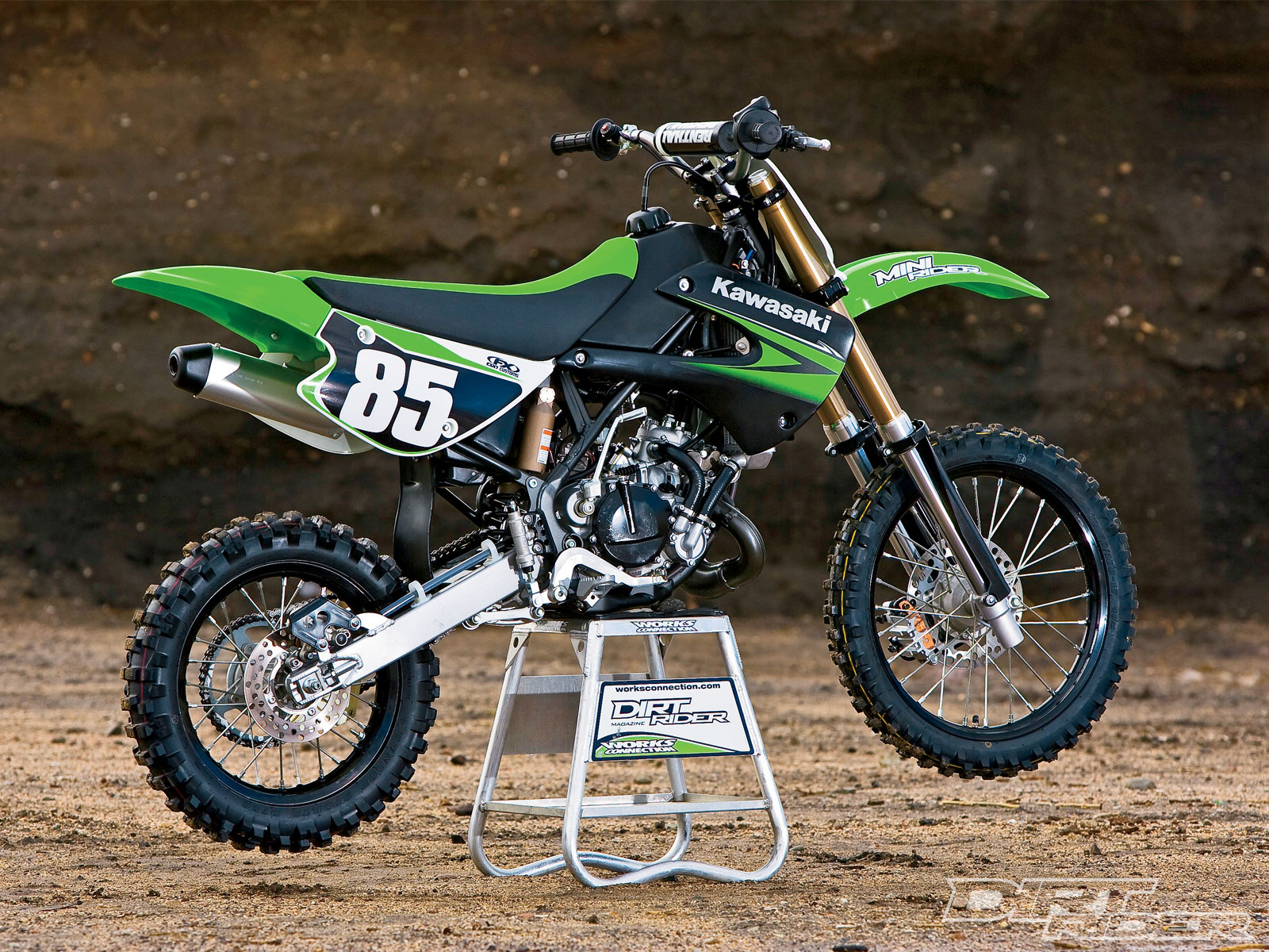 Kawasaki KX85-I Monster Energy #14
