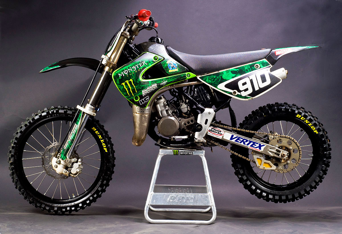 Kawasaki KX85-I Monster Energy #4