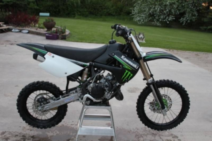 Kawasaki KX85-I Monster Energy #9