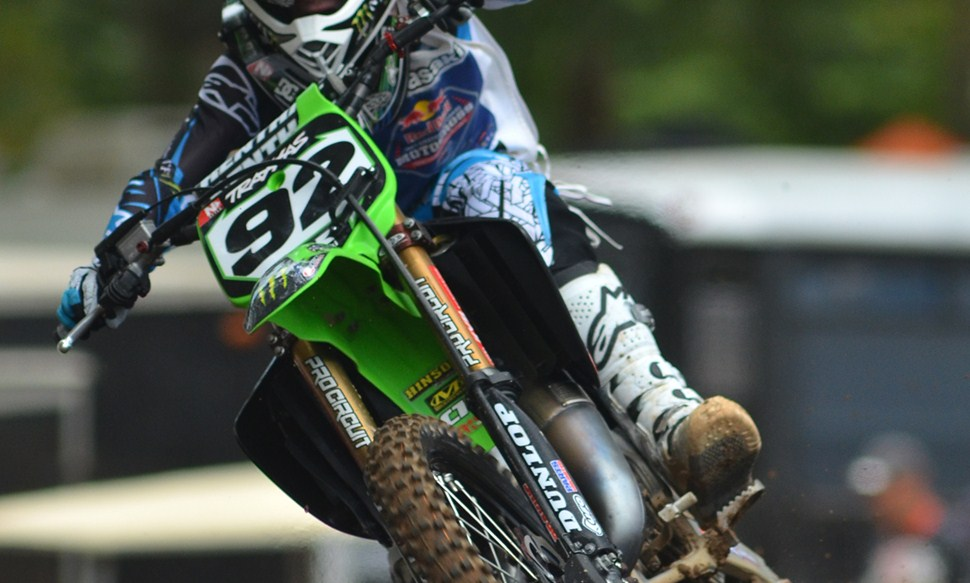 Kawasaki KX85-II Monster Energy #13