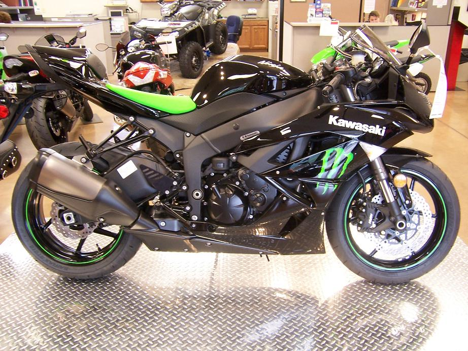 Kawasaki Ninja ZX-14 Monster Energy 2009 #11