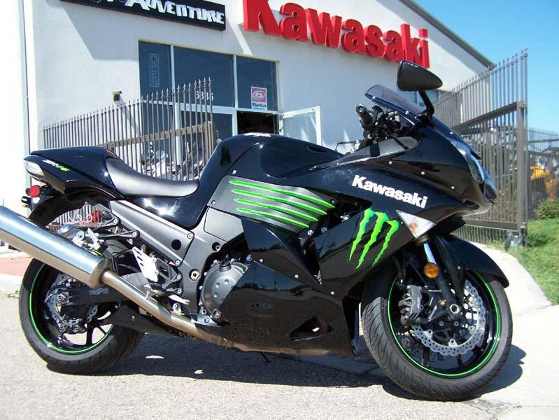 Kawasaki Ninja ZX-14 Monster Energy 2009 #12