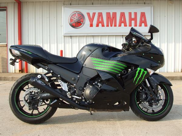 Kawasaki Ninja ZX-14 Monster Energy 2009 #3
