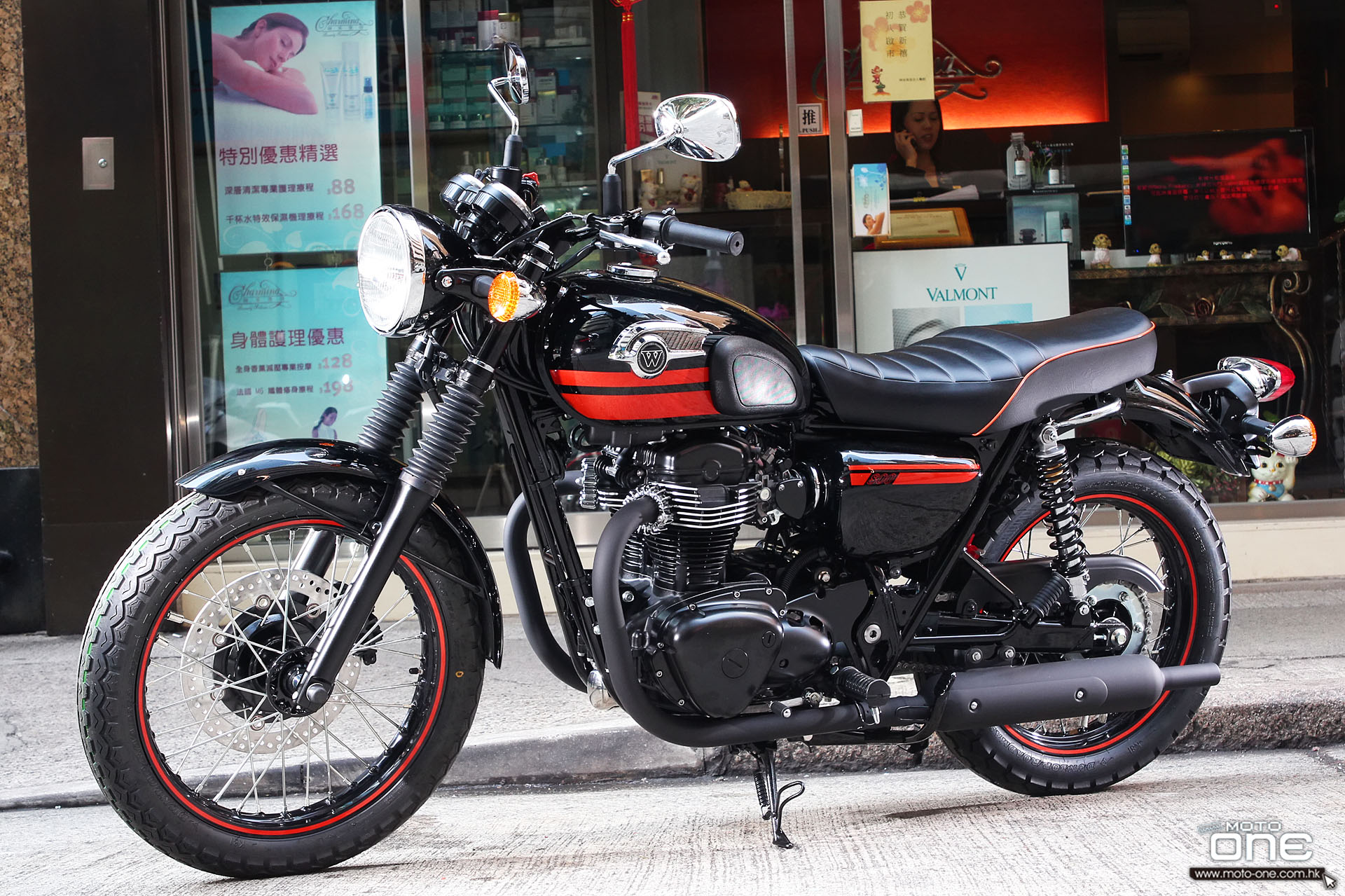 Kawasaki W800 Chrome Edition 2014 #9