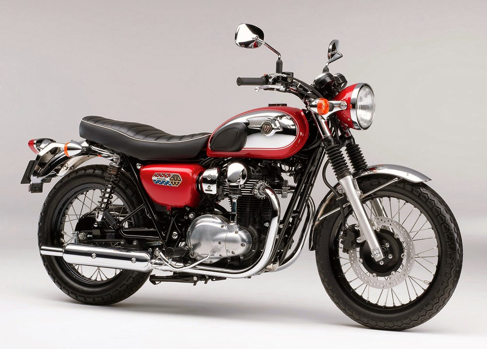 Kawasaki W800 Chrome Edition 2014 #2