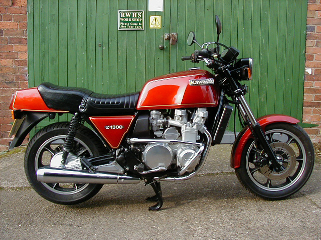 Kawasaki Z1300 (reduced effect) 1982 #9