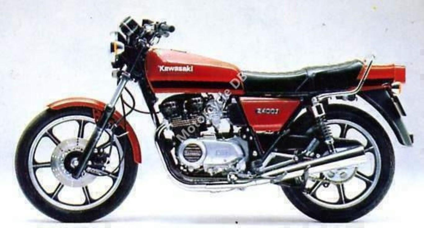 Kawasaki Z400F (reduced effect) 1984 #1