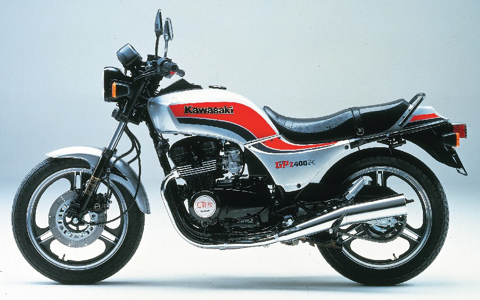 Kawasaki Z400F (reduced effect) 1984 #2