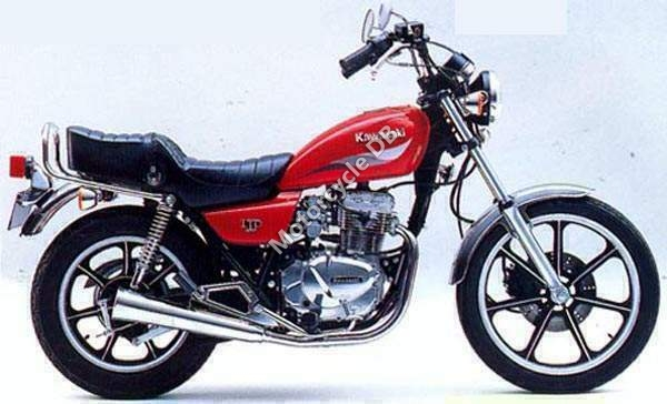 Kawasaki Z450 LTD (reduced effect) #10