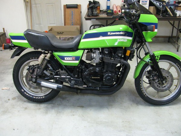 Kawasaki Z450 LTD (reduced effect) #11