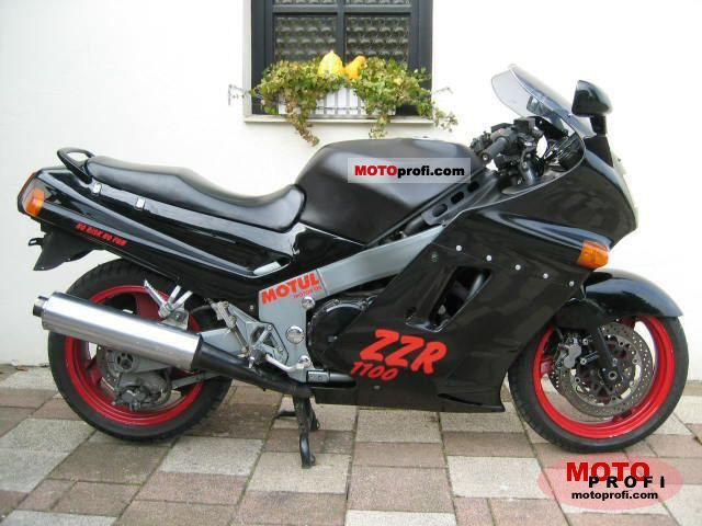 Kawasaki ZZR1100 (reduced effect) 1992 #1
