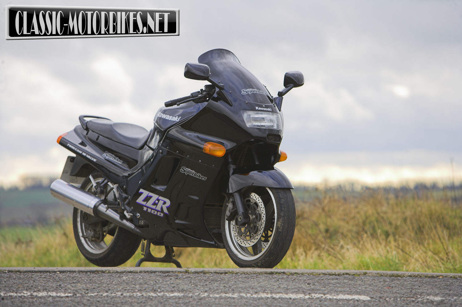 Kawasaki ZZR1100 (reduced effect) 1992 #5