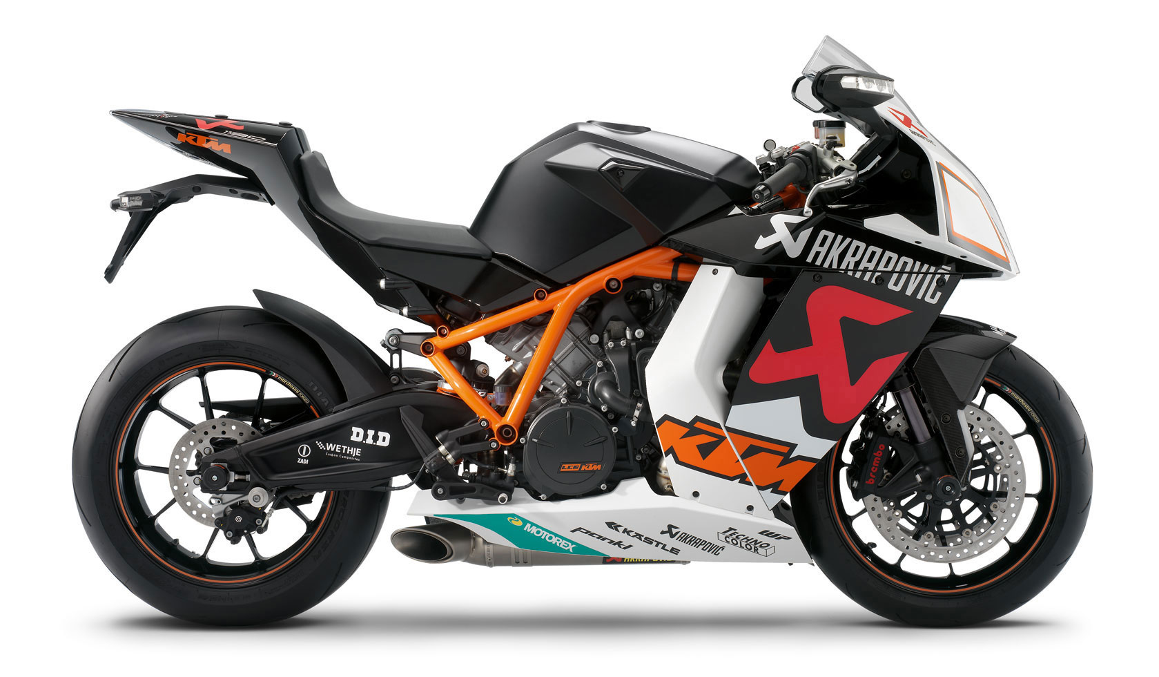 KTM 1190 RC8 R Akrapovic Limited Edition #1