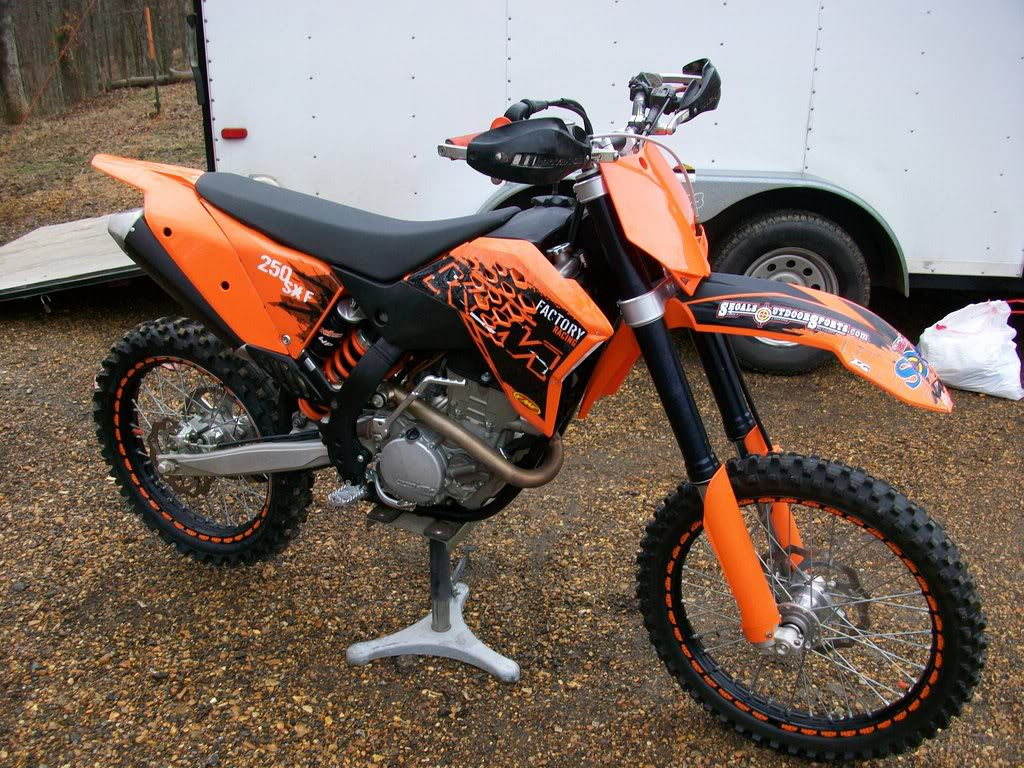 After Market Parts For A Ktm  Sxf