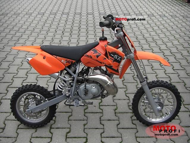 2006 ktm 50 mini adventure - moto.zombdrive