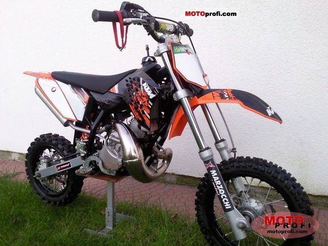 KTM 50 SX Junior 2009 #7