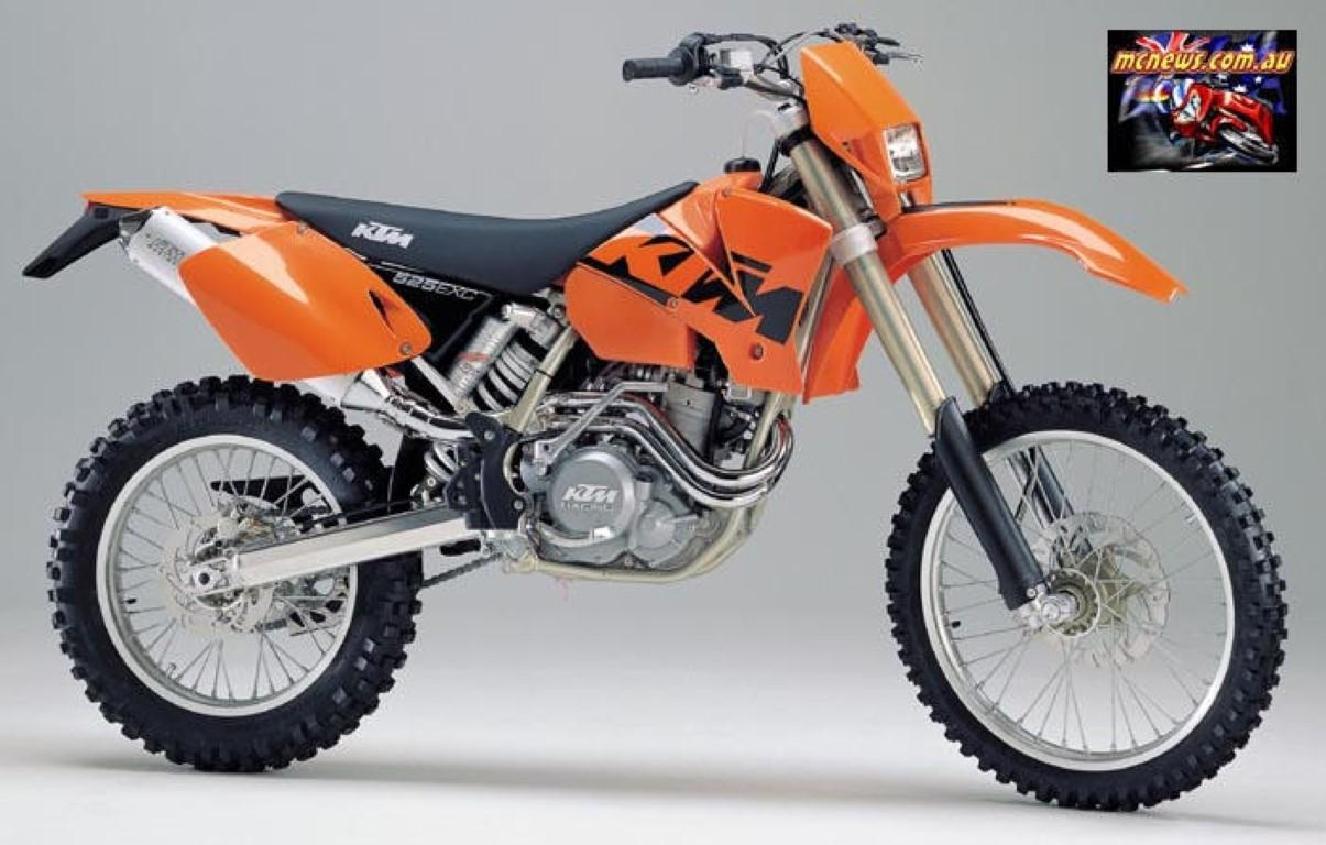 2004 KTM 525 MXC For Sale
