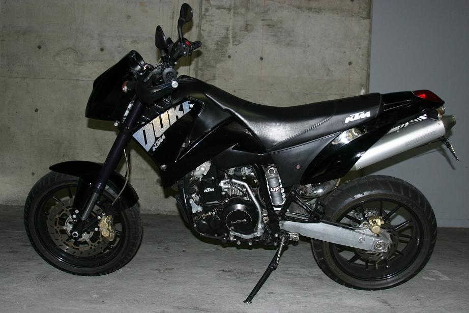 KTM 640 Duke II Black 2005 #11