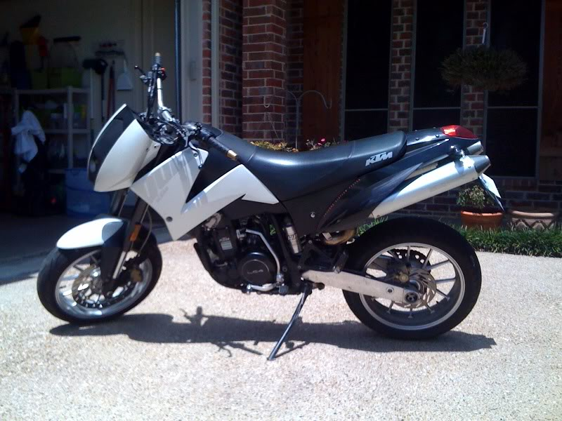 KTM 640 Duke II Black 2005 #14