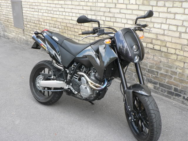 KTM 640 Duke II Black 2005 #15