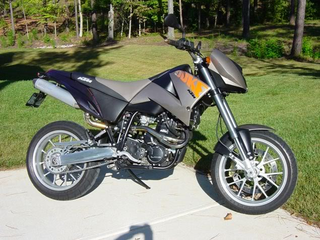 KTM 640 Duke II Black 2005 #2