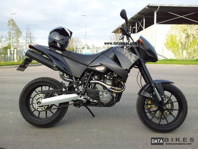 KTM 640 Duke II Black 2005 #3