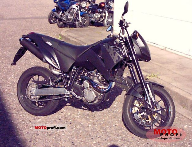 KTM 640 Duke II Black 2005 #6