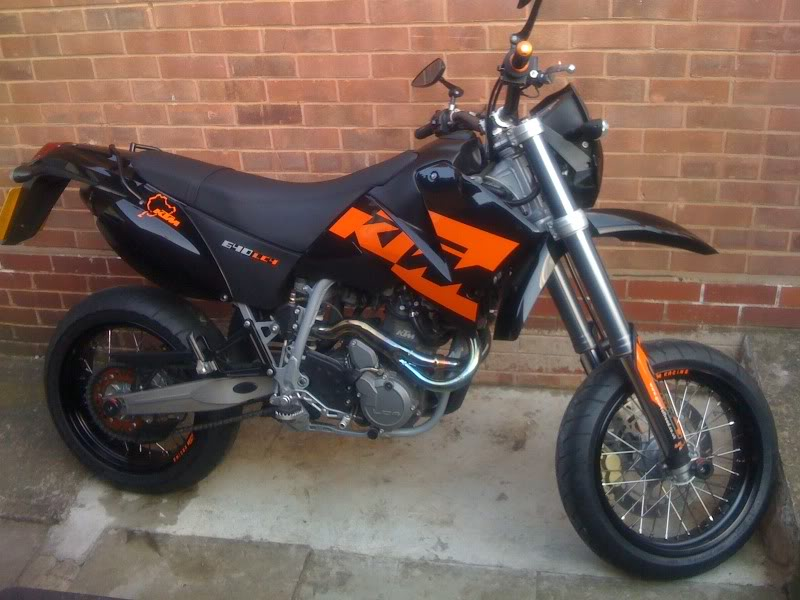 2005 ktm 640 lc4 smc black moto zombdrive com. Black Bedroom Furniture Sets. Home Design Ideas