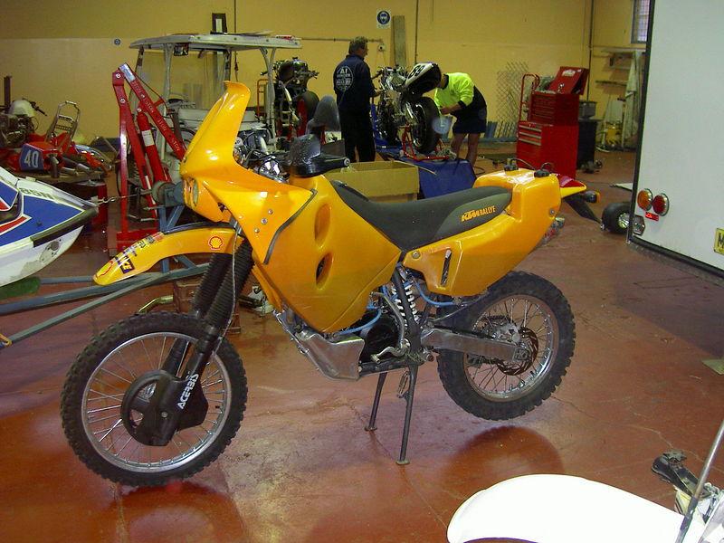 KTM 660 LC4 Rally Factory Replica 2003 #10
