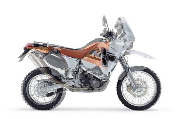 KTM 660 LC4 Rally Factory Replica 2003 #2
