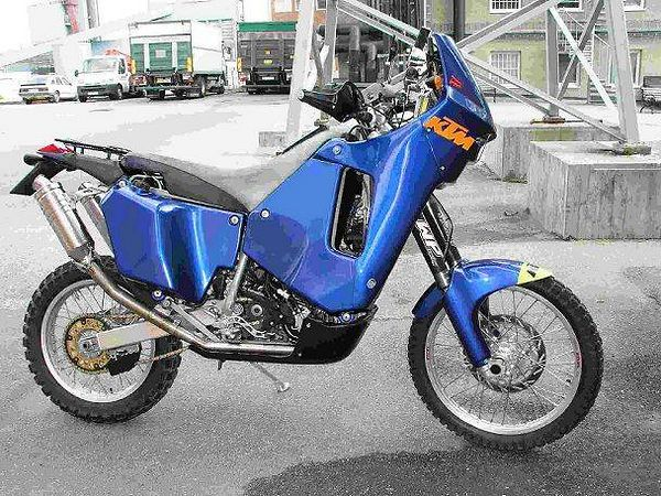 KTM 660 LC4 Rally Factory Replica 2003 #7