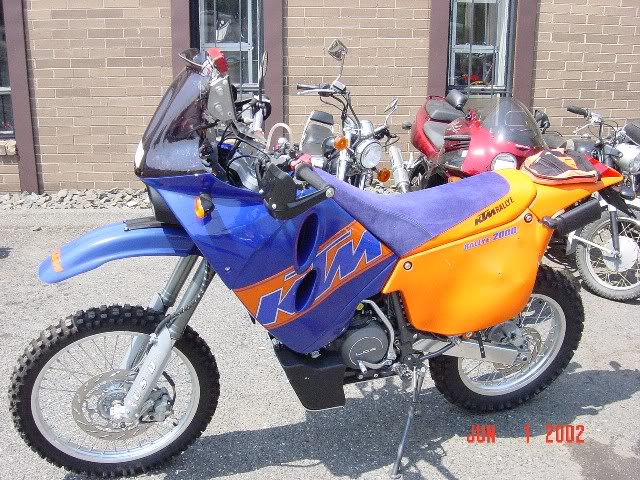 KTM 660 LC4 Rally Factory Replica 2003 #9