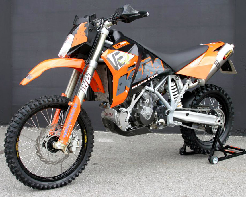KTM 950 Super Enduro R 2008 #9
