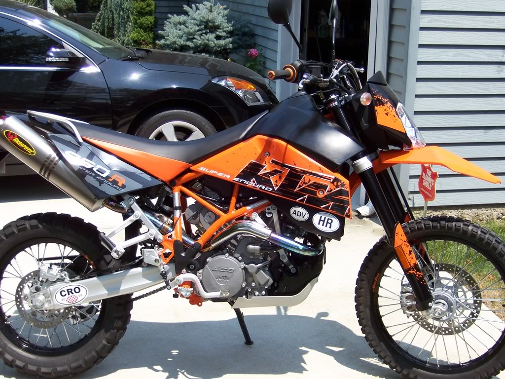 KTM 950 Super Enduro R 2008 #5