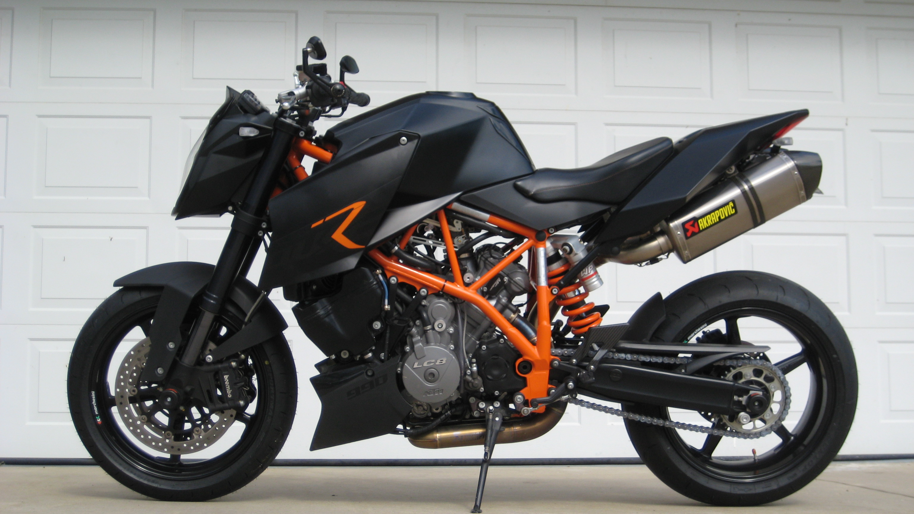 KTM 990 Superduke Black 2006 #6