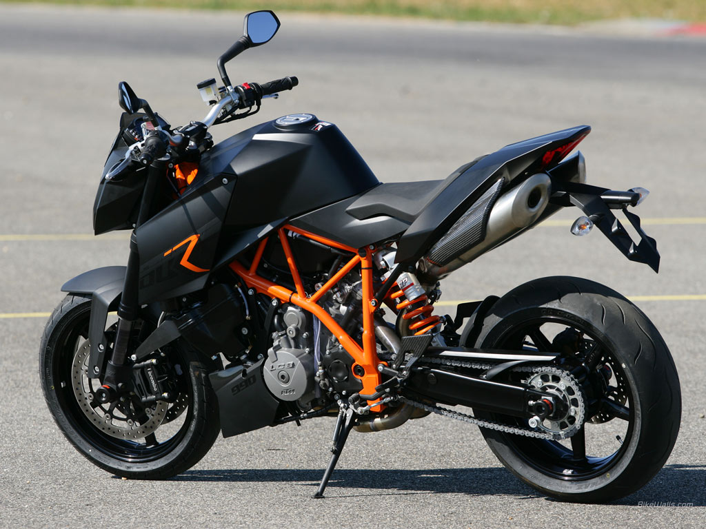 KTM 990 Superduke Black 2006 #7