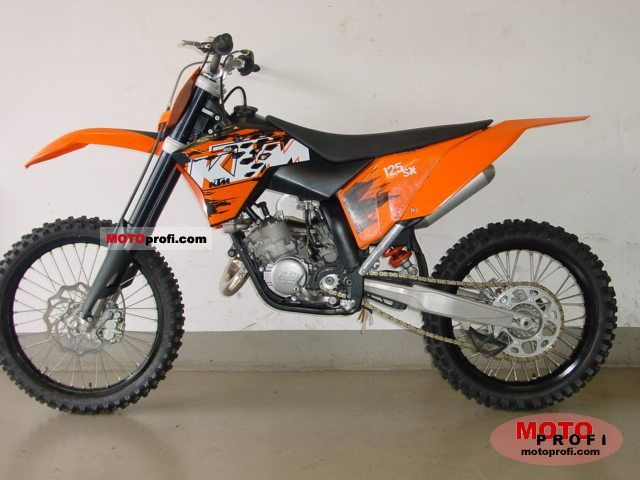 1988 ktm enduro 125 vc moto zombdrive com. Black Bedroom Furniture Sets. Home Design Ideas